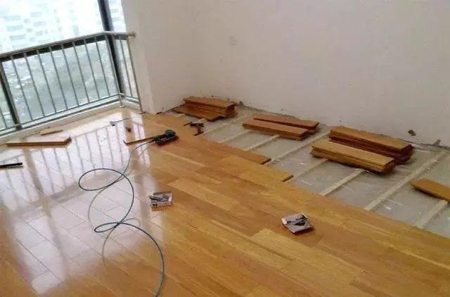 地板装修先后顺序
